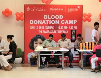 Aarone Group organises 3rd Blood Donation drive at Select CITYWALK