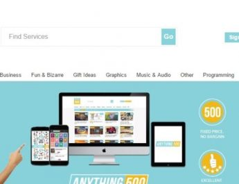 Anthing500 - online marketplace for digital services launched in India - Image