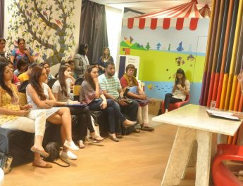 Asian Paints Colour Store workshop with Production Designer Shruti Gupte for WID