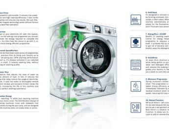 BOSCH - Washing Machine Features