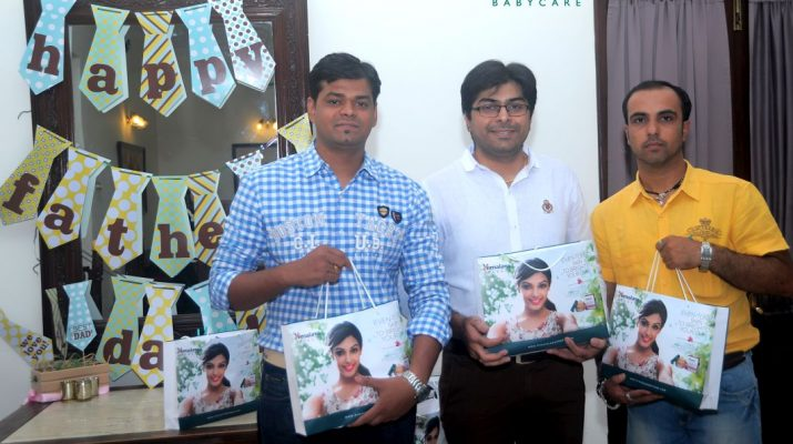 Bangalores proud dads at the Himalaya Baby Care event - Fathers Day