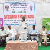 British Council trains 1200 teachers and head teachers in Telangana Government schools