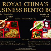 Royal China Introduces Business Bento Box