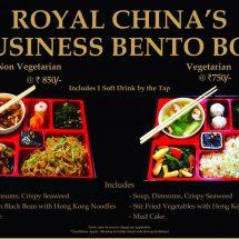 Royal China Introduces Business Bento Box