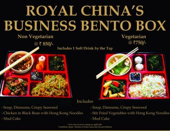 Business Bento Box - Royal China