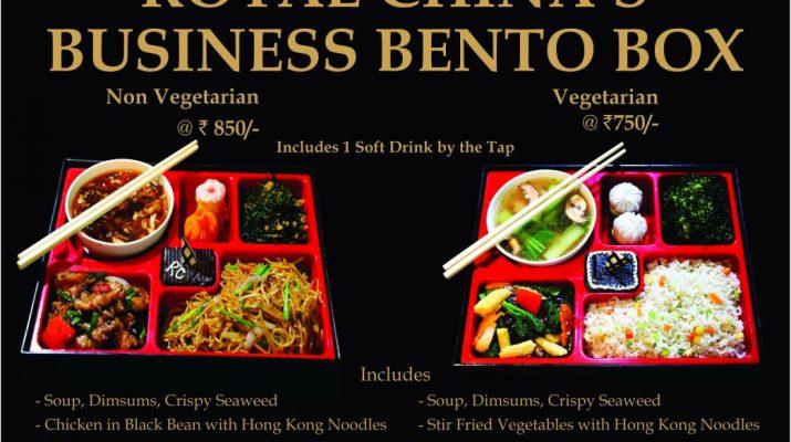 Business Bento Box - Royal China
