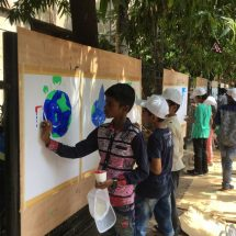 Children celebrate World Environment Day at PD Hinduja Hospital, Mahim – June 4