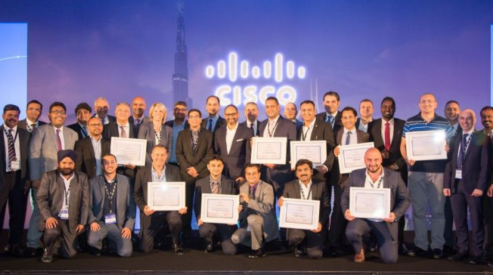 Cisco UAE Partner Summit 2016 - Award Winners