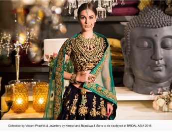 Collection by Vikram Phadnis and Jewellery by Nemichand Bamalwa and Sons to be displayed at BRIDAL ASIA 2016