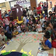DLF Place, Saket Celebrated World Environment Day with Kids on 'Place of Wheels'