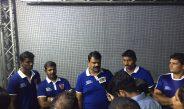 Dabang Delhi team visits SMAAASH, Cyberhub Gurgaon