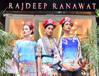 Designer Rajdeep Ranawat - Italian collection preview