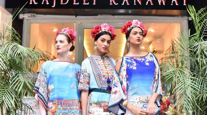 Designer Rajdeep Ranawat - Italian collection preview