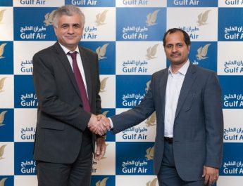 Dr Jassim Haji - Gulf Air and Prabu Balasubramanyan - TransSys Solutions