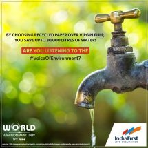 IndiaFirst Life Insurance stirs up 'Voice of Environment'