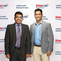 Exide Life Insurance signs on Mahendra Singh Dhoni, India's most successful Cricket Captain, as its Brand Ambassador