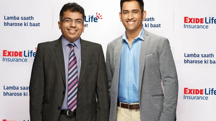 Exide Life Insurance signs on Mahendra Singh Dhoni as their Brand Ambassador