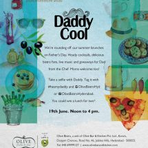 Fathers Day Celebrations @ Olive Bistro