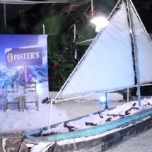 Foster's Frozen Night Launch @ Olive Bistro