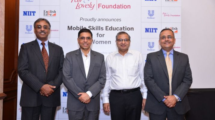 HULs Fair and Lovely Foundation partners NIIT and English Edge to promote mobile skilling courses for women in India