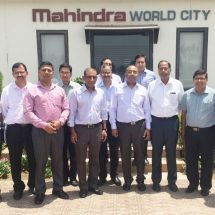 Heads of Indian missions in seven countries visit Mahindra World City, Jaipur