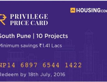 Housing dot com Launches Indias First - Privilege Price Card - in The Real Estate Sector