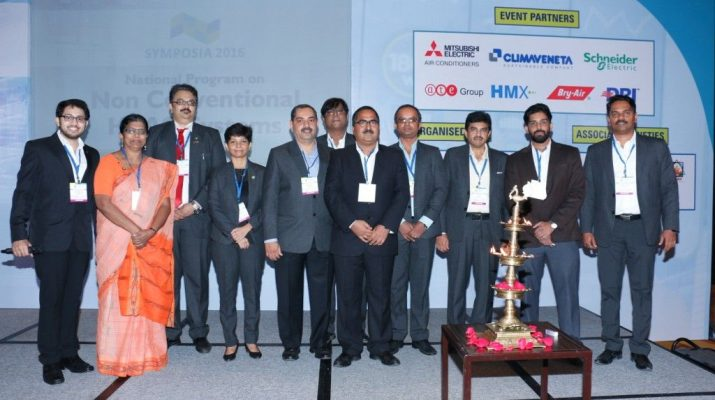 Inaugural ceremony of SYMPOSIA 2016 organised by ISHRAE in Mumbai