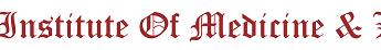 Institute of Medicine and Law - logo