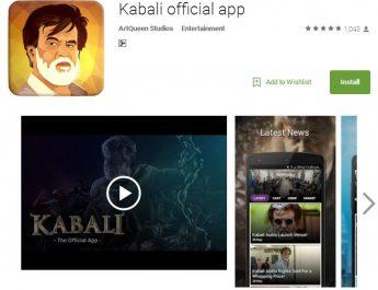 Super Star Rajinikanth's Kabali - Android App - Launch