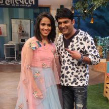 Kapil Sharma proves lucky for Saina Nehwal once again!