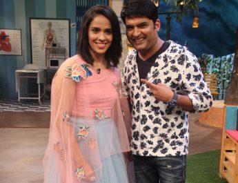 Kapil Sharma and Saina Nehwal