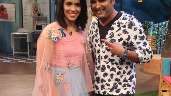 Kapil Sharma and Saina Nehwal