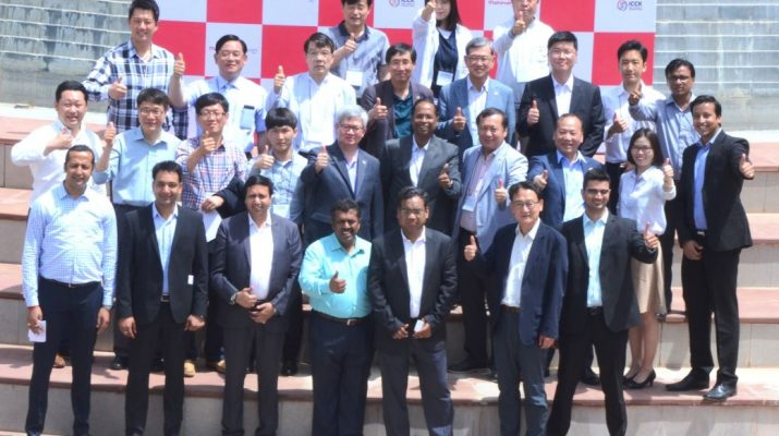 Korean delegation at Mahindra World City