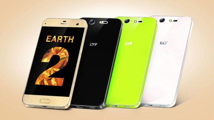 LYF Earth 2 Smartphone-plus range