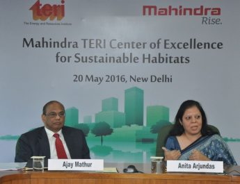 Mahindra TERI tieup CoE for Sustainable Habitats