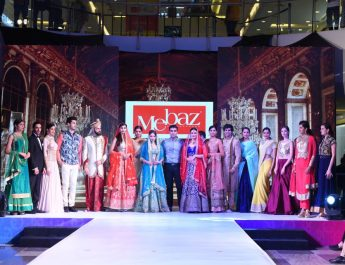 Models at Fashion Runway Sujana Forum Mall
