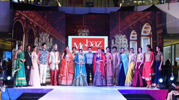 Models at Fashion Runway Sujana Forum Mall