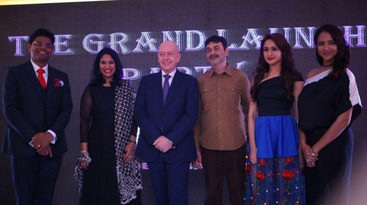 Mr Dinesh Rai - Ms Kavita Dutt - Mr Jean-Michael Casse - Mr Jayesh Ranjan - Ms Pragya - Ms Lakshmi Manchu at Grand launch of Mercure Hyderabad KCP