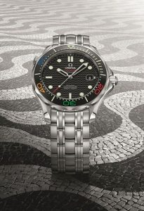 OMEGA LAUNCHES THE SEAMASTER DIVER 300M - RIO 2016 - LIMITED EDITION WATCH 2 - Rs 268100