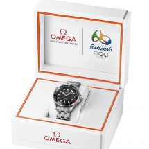 Omega launches LIMITED EDITION WATCH Dedicated to the Rio 2016 Olympic Games
