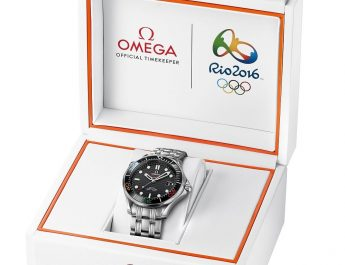 OMEGA LAUNCHES THE SEAMASTER DIVER 300M - RIO 2016 - LIMITED EDITION WATCH 3 - Rs 268100