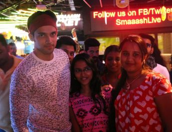 Parth Samthaan meeting Fans at Smaaash