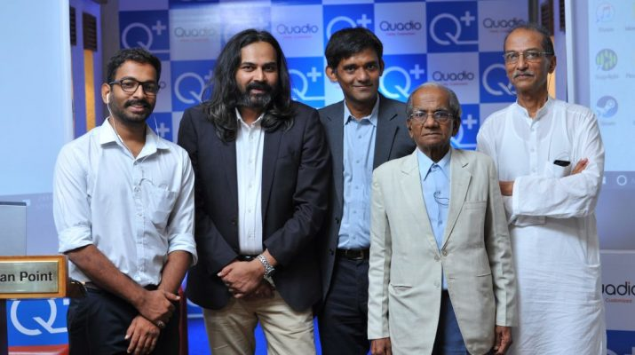 Patients with Neeraj Dotel - CEO_Anurag Sharma - Co-founder & CTO_Paresh Patel - Co-founder of Quadio Devices Pvt Ltd