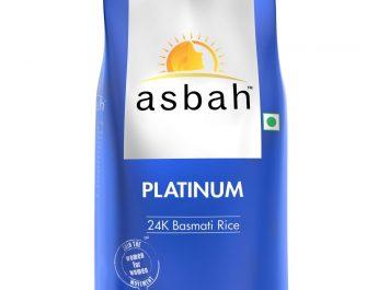 Platinum Basmati Rice 24K - 1kg from ASBAH