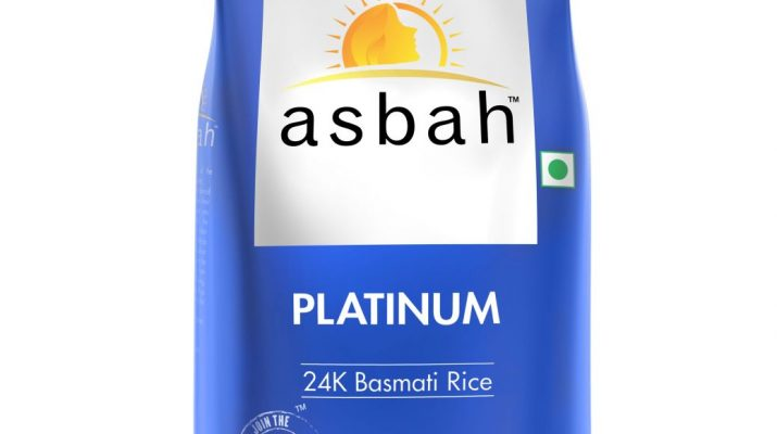 Platinum Basmati Rice 24K - 1kg from ASBAH