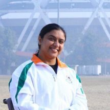 Pragya Ghildial Does Yoga in a Wheelchair