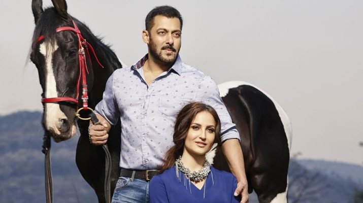 Salman Khan and Elli Avram showcase Being Human - SS16 Collection - Small
