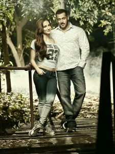 Salman Khan and Elli Avram showcase Being Humans SS16 Collection
