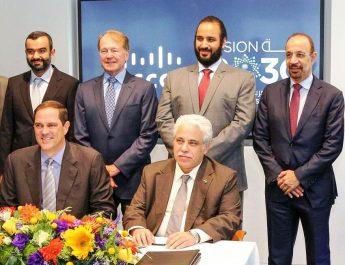 Saudi Arabia Digitization MoU Signing