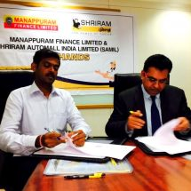 Shriram Automall inks tie-up with Manappuram Finance